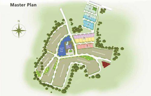 Masterplan The Villas – Rukun Senior Living Sentul